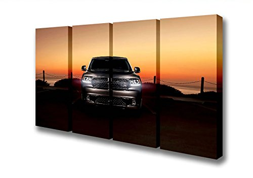 four-panel-dodge-durango-canvas-art-prints-double-xl-48-x-96-inches