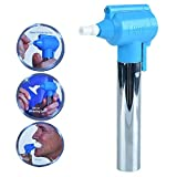 Om Fashion Tooth Oral Polisher Whitener Stain Remover with LED Toothbrush Light Rubber Cups Power Tooth Brushes Luma Smile