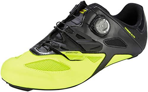 Mavic Cosmic Elite Unisex- Zapatillas - Amarillo/Negro Talla del Calzado UK 9,5 | EU 44 2019