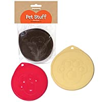 Rosewood Pet Products Small Pet Food 3 Can Covers.