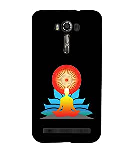 printtech Meditation Aura Back Case Cover for Asus Zenfone 2 Laser ZE500KL / Asus Zenfone 2 Laser ZE500KL (5 Inches)