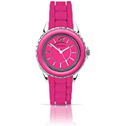 Sekonda Women's Quartz Watch with Pink Dial Analogue Display and Pink Silicone Strap 4594.27