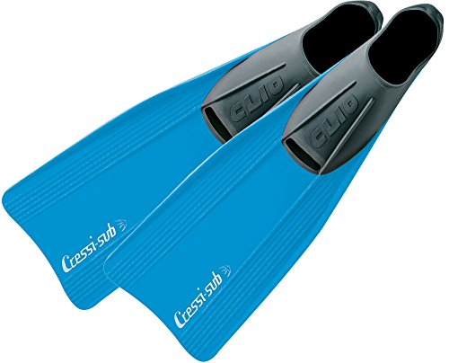 Cressi Clio fins - Aletas unisex, color azul, talla 47 / 48