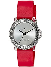 Fastrack Analog Silver Dial Women's Watch - NE9827PP08J