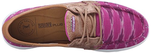 Skechers Performance On-the-go Flagship Slip-on Boat Shoe Pink Ikat