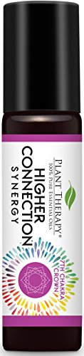 Plant Therapy Chakra 7 Higher Connection Synergy (Crown Chakra) Pre-Diluted Roll-On 10 mL (1/3 oz) 100% Pure