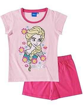 Disney El reino del hielo Chicas Pijama mangas cortas - Rosa