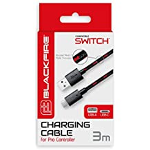 Ardistel - Cable USB, Tipo C, 3 M (Nintendo Switch)