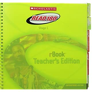 Scholastic Read 180 Stage C rBook Teacher's Edition by Scholastic (2005-12-23)