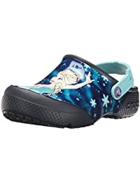 Crocs FunLab Frozen Girls Clog In Blue
