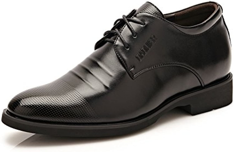 MXNET Leder Oxford Schuhe Männer Klassische Kleid Schuhe Höhe ...