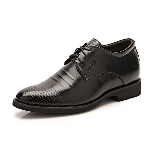 Zapatos Calzado Elevador Hombre 6CM Taller Cordones