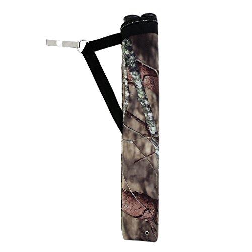 MagiDeal Pfeile Köcher Outdoor Bogenschießen Köcher Tasche Jagd Pfeil Halter Training Bogen Tasche - Camouflage - Pfeil Halter