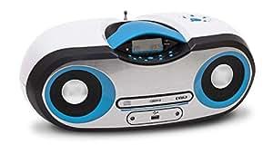BigBen Interactive CD 54 Radio/Radio-réveil Lecteur CD MP3 Port USB