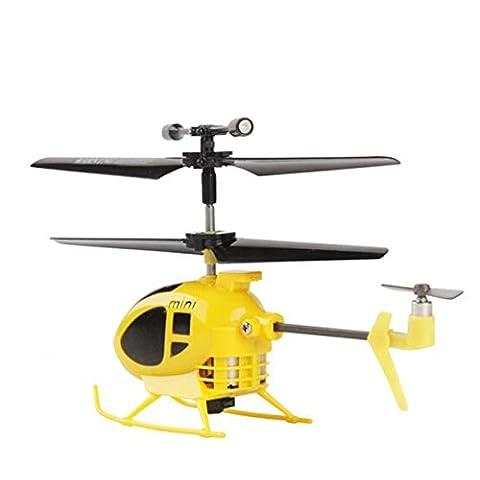 SYMA S6 Mini Super Mini Micro 3 canales RC helicóptero con mando a distancia para interiores Toys Gyro