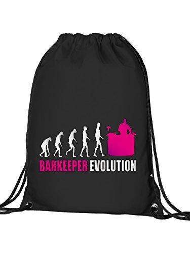 BARKEEPER EVOLUTION 525 Turnbeutel (Schwarz-Pink)