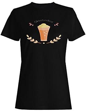 Fiesta De La Cerveza Oktoberfest 2017 camiseta de las mujeres o351f