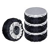 Bolsa universal para ruedas de 13 – 19 pulgadas, bolsa de almacenamiento para neumáticos de coche, bolsa de almacenamiento a prueba de polvo, bolsa de almacenamiento ligera para neumáticos de coche