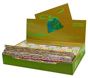 Florio 8001294867050 - Paquete de 100 Hojas de Papel para Regalo, Multicolor, 70 x 100 cm