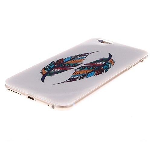Custodia per iPhone 6 / 6S, Pridot TPU Silicone Graffiti Stile Case Cover Protettiva con Shock Assorbimento Bumper - La Scienza Frankenstein Simmetrica di Bellezza