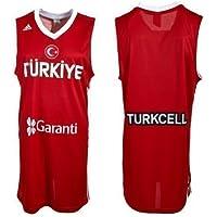 adidas Turquía equipo nacional l02528baloncesto Jersey, rojo