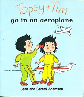 Topsy and Tim go in an aeroplane