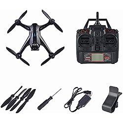 Lorenlli 1080P Pixel Profesional GPS Drone con 2.4G cámara WiFi Quadrocopter Brushless RC Drone Ray X198 Aviones de Cuatro Ejes