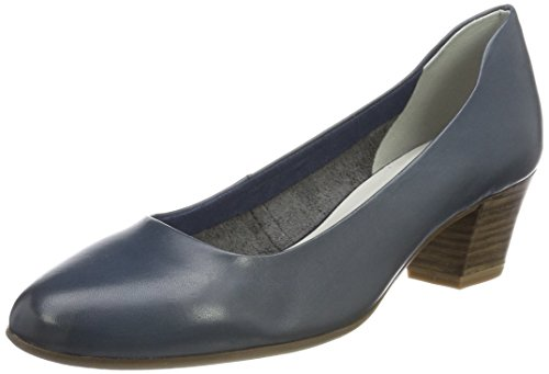 Tamaris Damen 22302 Pumps, Blau, 40 EU