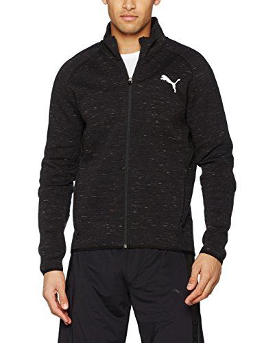 Puma Evostripe Spaceknit Jacket, Giacca Uomo Cotton Black Heather