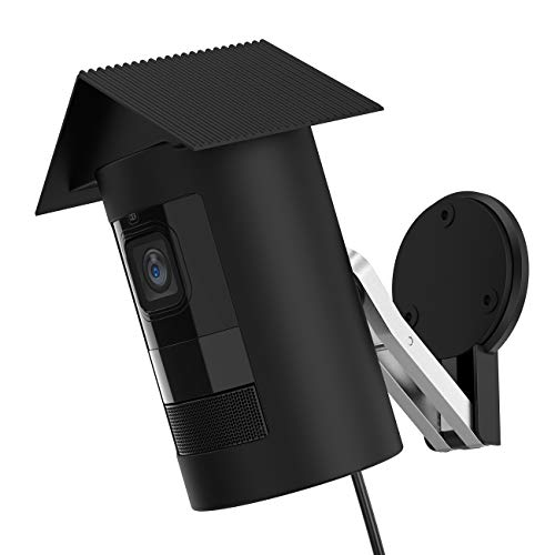 BECEMURU Ring Stick Up Cam Wired Silikonhäute schützen und tarnen Cam Silikonhülle für Ring Stick Up Cam Wired Action Kamera (Schwarz) (Ringe Schütze)