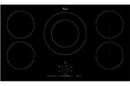 Whirlpool ACM 795/BA plaque - plaques (Intégré, Induction, Noir, toucher, Devant, LED)