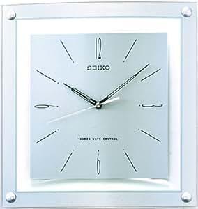 seiko clocks wanduhr funk qxr205s uhren. Black Bedroom Furniture Sets. Home Design Ideas