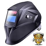 Tacklife PAH01D Auto-darkening Welding Helmet with 4 Independent Shade Filter Sensors, Welders Helmet