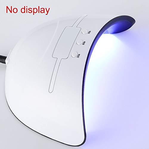 Symboat Esmalte uñas Gel Dryer LED lámpara UV 36W
