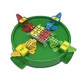Unicoco Frosch Isst Bohnen Spielzeug ,Frösche, die Bohnen Essen, Spielen Kinderdesktop-wechselwirkendes Parenting-Spiel für Kind-Erwachsenen