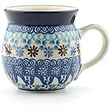 Bunzlau Château Farmer Mug, Bleu corail, 240ml