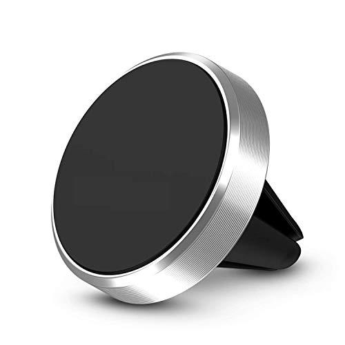 Maju Universal Magnet Auto KFZ Lüftungs Gitter Halter Halterung Autohalterung Handy (Silber)