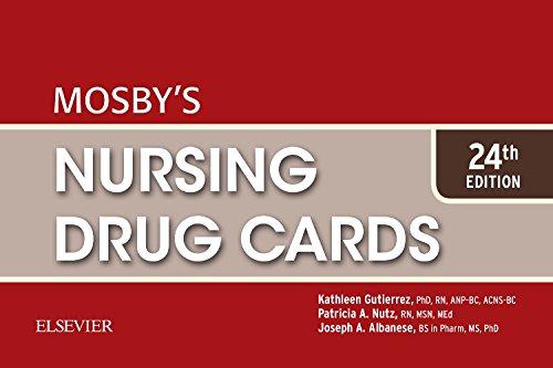 Mosby's Nursing Drug Cards (Nursing Cards Drug)