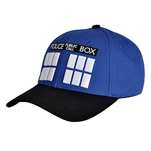 Doctor Who Basecap Tardis zur Serie Baumwolle (Hat Dalek)