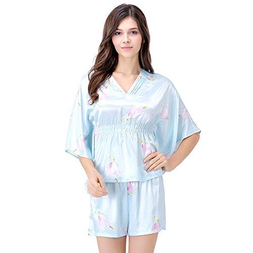 Estate pigiama seta morbida/ piccola casa service kit/ marmellate di manica pipistrello/ l'abito/ sexy A