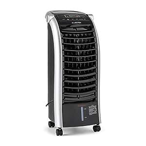 klarstein maxfresh rafraichisseur d 39 air ventilateur sur roulettes avec diff rents modes de. Black Bedroom Furniture Sets. Home Design Ideas