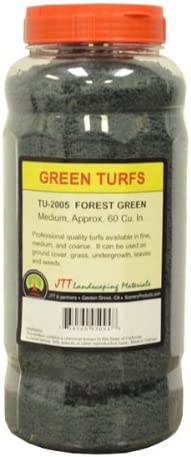 JTT Scenery Products Green Turf, Turf, Turf, Forest Green, Medium | Simple D'utilisation
