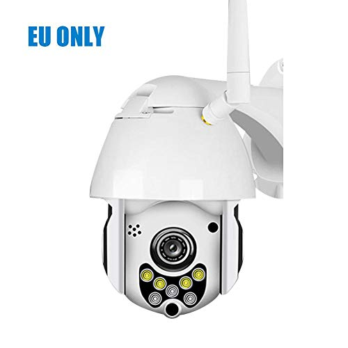 Überwachungskamera 1080P 7LED PTZ Mini WIFI Outdoor Dome Home Se...