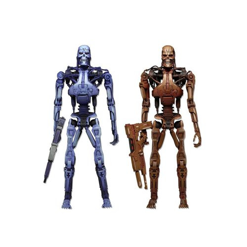 Neca Robocop VS Terminator 1983 Video Game Terminator Endoskeleton Assault 2 Pack Figure Set Exclusive