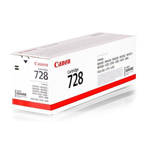 728 CRG-Canon-Schwarz-original toner-Patrone für i-SENSYS FAX-L170 x L100, L410, MF4410, MF4450, MF4550, MF4730, MF4750, MF4870 MF4890