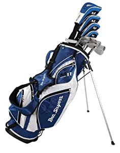 Ben Sayers Men's M11 Golf Package Set - (Blue/white, Regular, Complete Set, Right Hand)