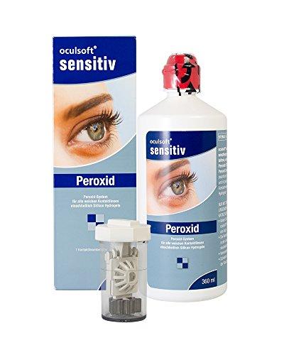Oculsoft Sensitiv Peroxid 360ml - Pflegemittel für weiche Kontaktlinsen