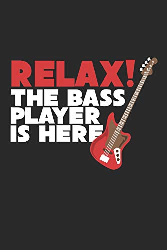 Relax! The Bass Player Is Here: Guitar Tabs - 100 Pages - six horizontal lines that represent the six strings on the guitar