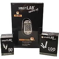 Preisvergleich für smartLAB sprint nG Blutzuckermessgerät Bundel mmol/L | Blutzuckermessgerät im Kombi Set mit 50 smartLAB nG Teststreifen...