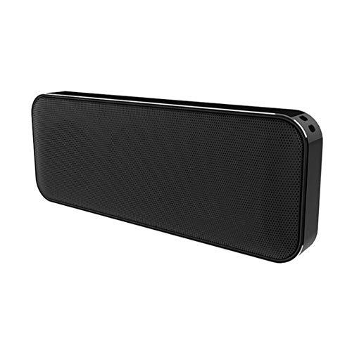 Bluetooth Altavoz inalámbrico Cuadrado Doble Cuerno Mini Bolsillo Metal portátil Ultrafino Delicado...